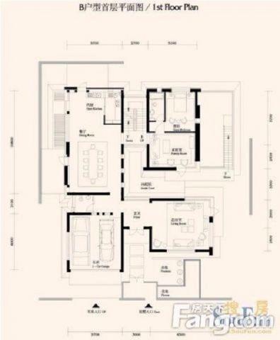 齐齐哈尔运建园50平米现代风格户型图