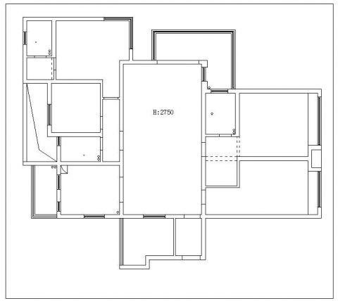 芜湖华强广场206平米美式风格户型图