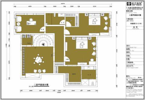 大同铂蓝原著360平米新古典风格户型图
