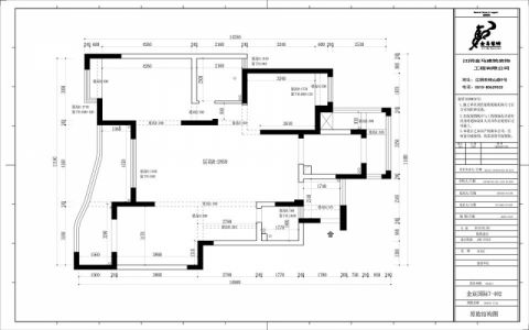 江阴金辰国际花园125平米现代简约风格户型图
