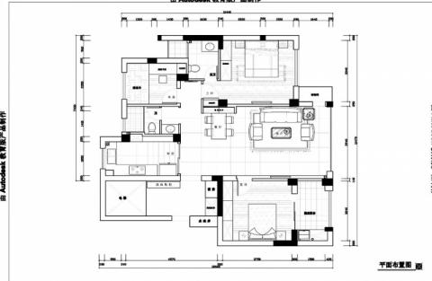 宁波维科东院118平米现代风格户型图