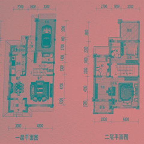 广州南沙奥园600平米现代风格户型图