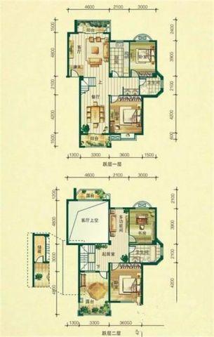 成都理工东苑200平米新古典风格户型图