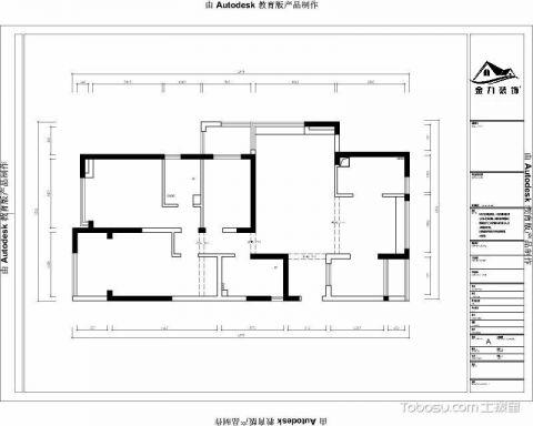 常州玉兰广场165平米田园风格户型图