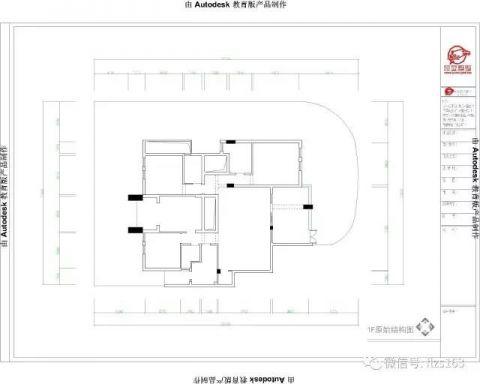 遵义东方星园144平米新中式风格户型图