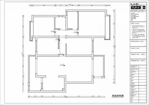 重庆璧山绿岛中心116平米现代简约风格户型图