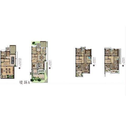 扬州扬州天下花园299平米欧式风格户型图