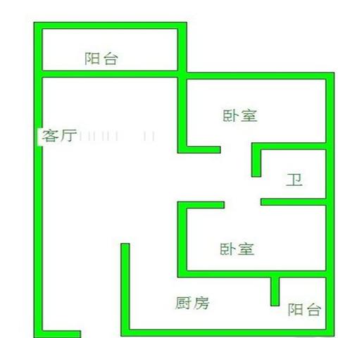 南京恒永西苑120平米美式风格户型图
