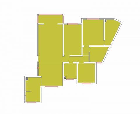 太原天鹅堡220平米欧式风格户型图