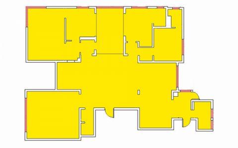 太原摩天石300平米新中式风格户型图