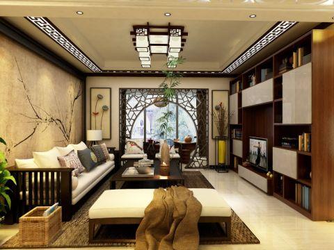 上海163平新中式163平米新中式风格户型图