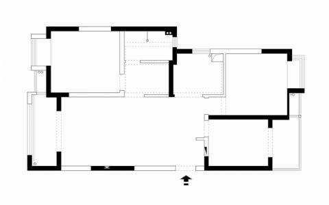 南通海尚家园72平米现代简约风格户型图