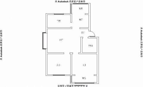 3室1卫2厅
