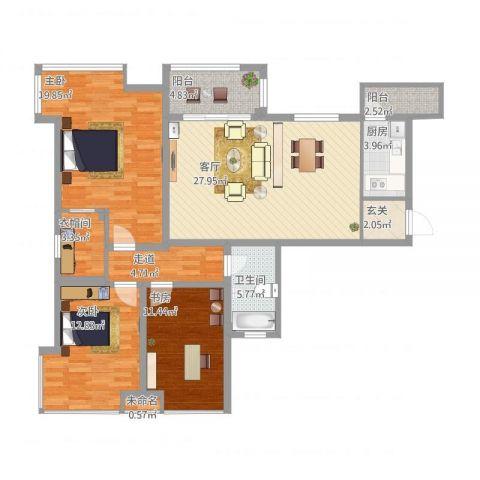 2室2卫1厅