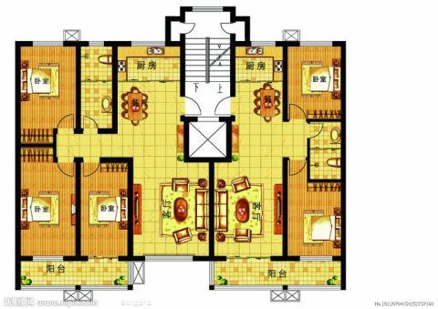 4室3卫2厅