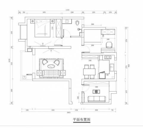 1室1卫2厅