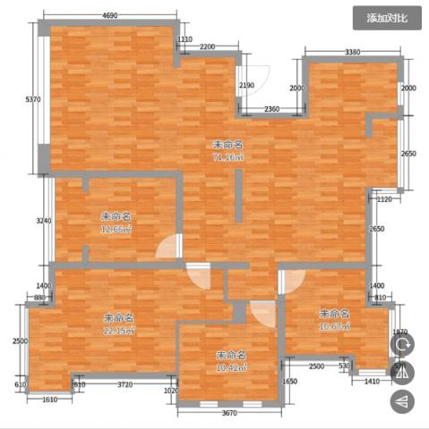 4室2卫2厅