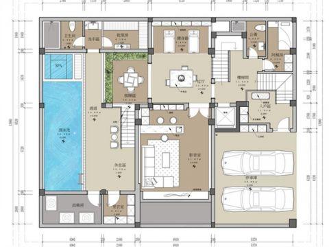5室5卫3厅