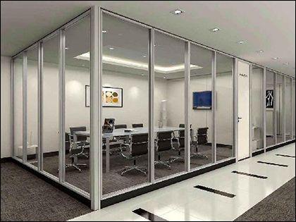 玻璃隔断墙:保养得当 常养常新