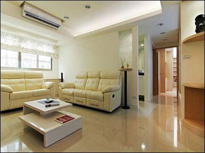 115平米装修 简约居室色彩搭配有技巧