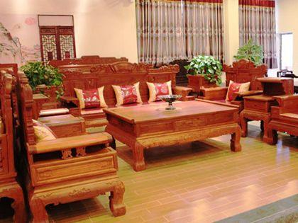 红木沙发选购有手艺,若何辨伪是?学问