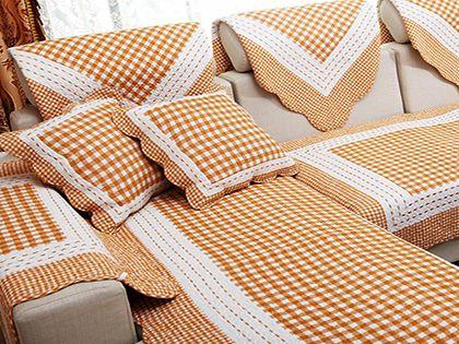 """沙发套的制作方法,两个小技巧教你做""""巧媳妇"""""""
