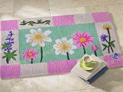 手工钩针编织地毯方法 教你打造写意家居生活