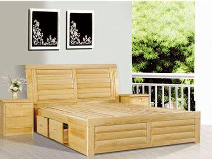 松木床的优缺点分析 帮助你选择一款适合自己的床