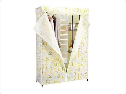 简易衣柜组装  四个步骤一学就会