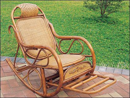 藤摇椅保养:常养常新更舒心