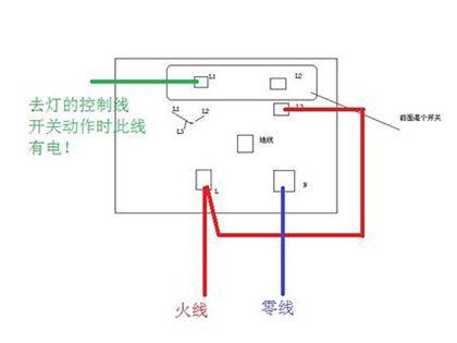 带开关插座接线图  简单几招就能看懂