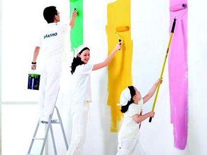 """熟知刷墙面漆的步骤,不做装修界的""""文盲"""""""
