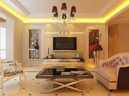 130平米装修设计,8万元打造低调素雅时尚感