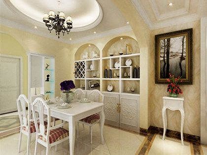 欧式装修样板房,教你打造浪漫居室环境