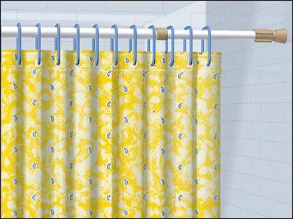 浴帘杆安装注意事项:教您打造完美私密空间