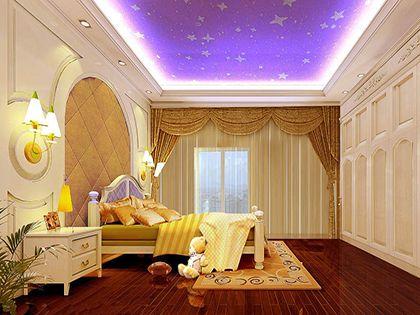 儿童卧室装修 设计放飞童年