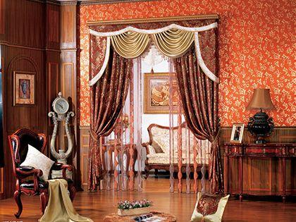 歐式窗簾有什么特點?四張圖片教你打造歐式浪漫