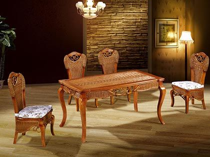藤餐椅选购四大步骤,为您提供最贴心的导购