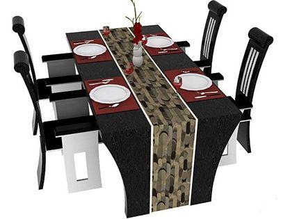 四人餐桌尺寸大全  总有一款尺寸是适合你家的