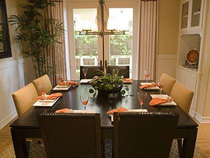 餐厅家具摆放巧布置  给你一个温馨舒适用餐环境