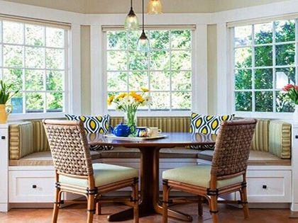 餐厅卡座沙发尺寸参考,适合家人的才是最好的