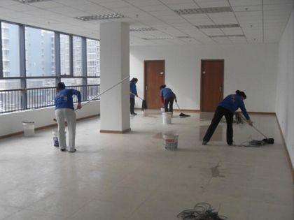工程开荒:专业保洁更有效率