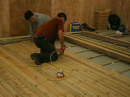 木地板怎么安装:四大步骤简单易学