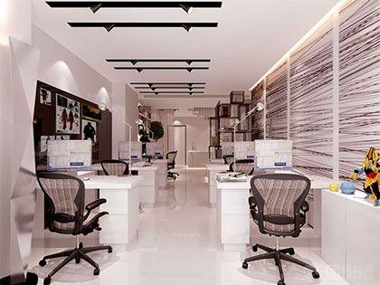 现代简约办公室装修设计理念,简约而不简单