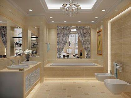 卫生间瓷砖颜色巧搭配  别致空间轻松get