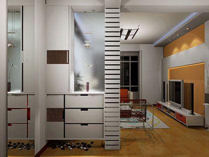 屏风鞋柜如何搭配才能节省空间?