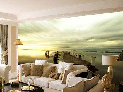 解读:客厅壁纸搭配与客厅朝向的那些事