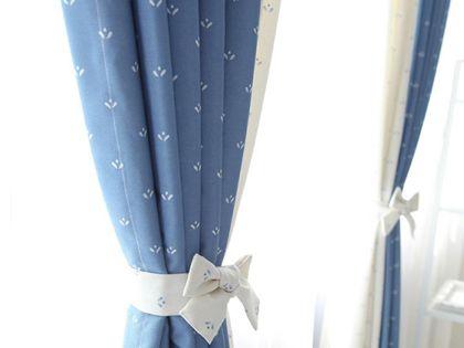 地中海風格窗簾,簡單中透露著別致
