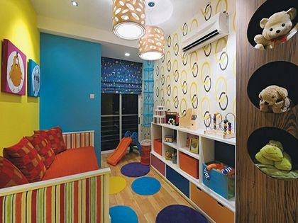儿童房布置:给孩子创造一片温馨小天地