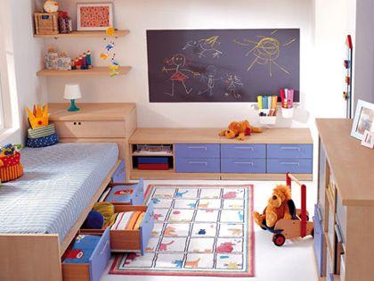 儿童房样板间 给孩子不一样的成长环境
